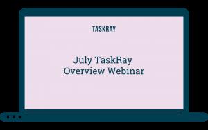 computer screen saying June Taskray Overview Webinar