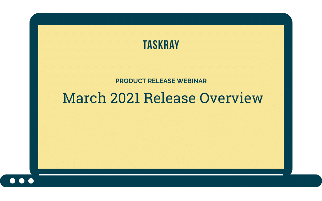 Webinar Video:  March Release Overview
