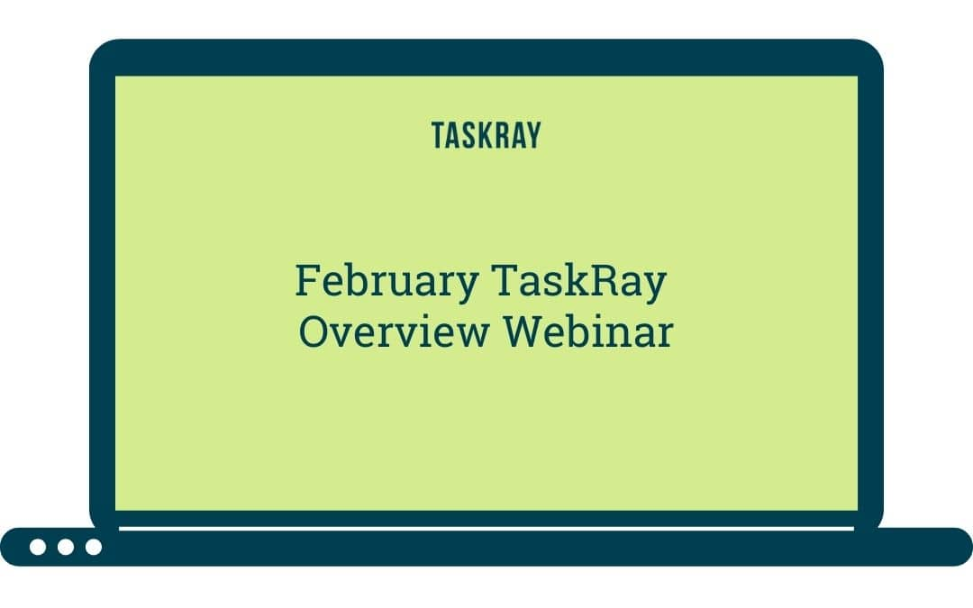 Webinar Video:  February Overview