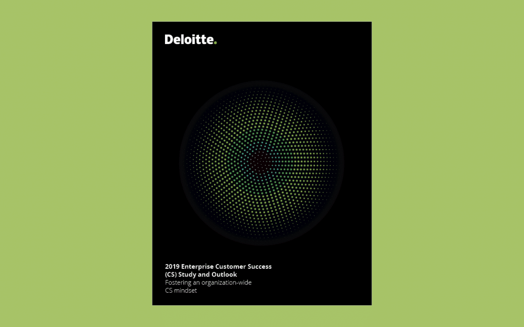 TaskRay Reviews: Deloitte's 2019 Enterprise Customer Success Study and Outlook