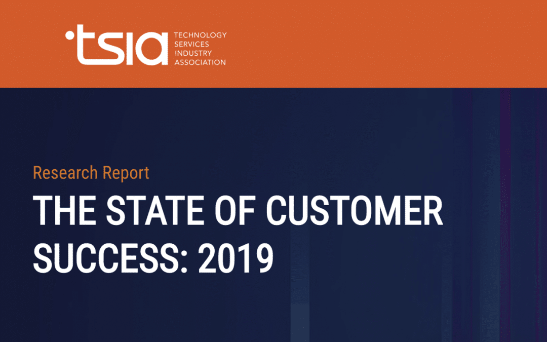 TaskRay Reviews: TSIA The State of Customer Success Report 2019